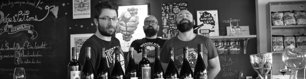 trio la nature du vin